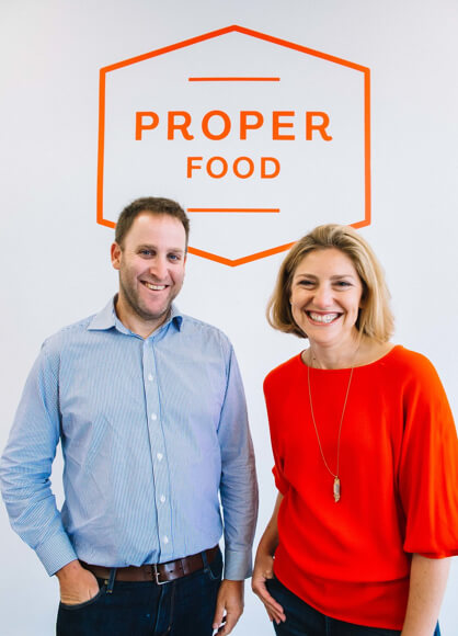 Howard & Dana Bloom, Owners of Proper Food
